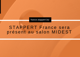 STAPPERT France sera présent au salon MIDEST