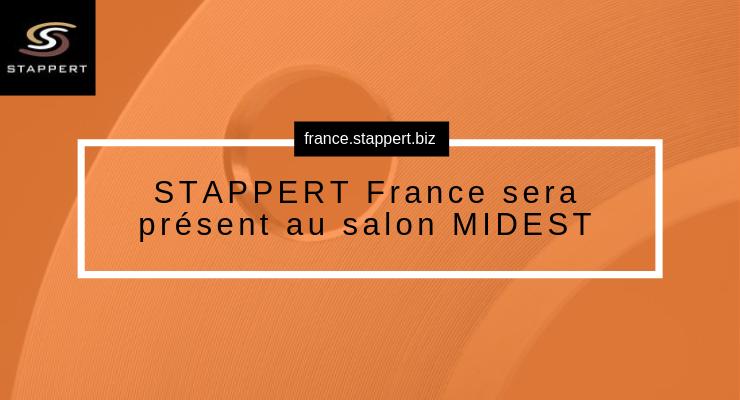 STAPPERT France sera présent au salon MIDEST